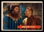 1957 Topps Robin Hood #6   Sinister Plot Front Thumbnail