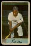1954 Bowman #89  Willie Mays  Front Thumbnail