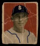 1949 Bowman PCL #3  Ralph Hodgin  Front Thumbnail