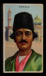 1911 Recruit T113 Types of Nations #32   Persia Front Thumbnail