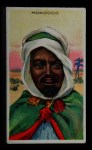 1911 Recruit T113 Types of Nations #29   Morocco Front Thumbnail