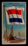 1911 Flags of All Nations T59 #157 REC  Holland Pilot Flag Front Thumbnail