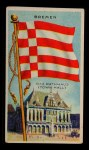 1911 Flags of All Nations T59 #17 JAC  Bremen Front Thumbnail