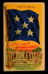 1911 Flags of All Nations T59 #147 REC  Victoria Front Thumbnail