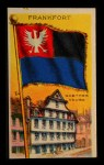1911 Flags of All Nations T59 #46 REC  Frankfort Front Thumbnail