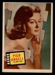 1957 Topps Hit Stars #79  Pier Angeli   Front Thumbnail
