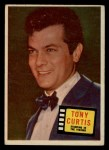 1957 Topps Hit Stars #84  Tony Curtis   Front Thumbnail