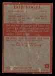 1965 Philadelphia #13  Bob Vogel  Back Thumbnail