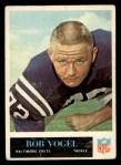1965 Philadelphia #13  Bob Vogel  Front Thumbnail