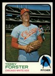 1973 Topps #129  Terry Forster  Front Thumbnail