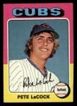 1975 Topps Mini #494  Pete LaCock  Front Thumbnail