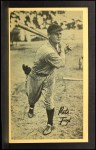 1937 Goudey Wide Pen CR Pete Fox  Front Thumbnail