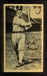 1937 Goudey Wide Pen  Zeke Bonura   Front Thumbnail