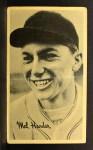 1937 Goudey Wide Pen CR Mel Harder   Front Thumbnail