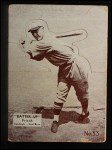 1934 Batter Up #33  Frankie Frisch   Front Thumbnail