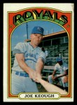 1972 Topps #133  Joe Keough  Front Thumbnail