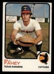 1973 Topps #186  Bill Fahey  Front Thumbnail