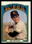 1972 Topps #504  Ed Spiezio  Front Thumbnail