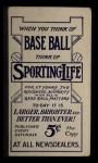 1910 M116 Sporting Life  Tom Needham  Back Thumbnail