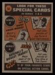 1972 Topps #54   -  Bud Harrelson In Action Back Thumbnail