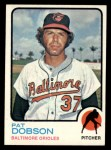 1973 Topps #34  Pat Dobson  Front Thumbnail