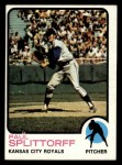 1973 Topps #48  Paul Splittorff  Front Thumbnail