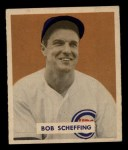 1949 Bowman #83 NAM Bob Scheffing  Front Thumbnail