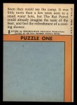 1966 Topps Rat Patrol #8   Soon They Could See the Camp Back Thumbnail