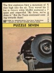 1966 Topps Rat Patrol #60   The First Explosion Blew Mountain Back Thumbnail