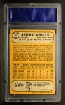 1968 Topps #582  Jerry Grote  Back Thumbnail