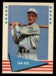 1961 Fleer #70  Sam Rice  Front Thumbnail