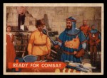 1957 Topps Robin Hood #43   Ready For Combat Front Thumbnail