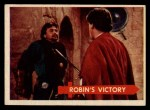 1957 Topps Robin Hood #34   Robin's Victory Front Thumbnail