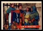 1957 Topps Robin Hood #29   I'm Minstrel Front Thumbnail