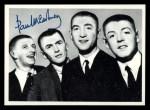 1964 Topps Beatles Black and White #102  Paul McCartney  Front Thumbnail