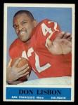 1964 Philadelphia #162  Don Lisbon  Front Thumbnail