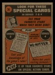 1972 Topps #36   -  Jerry Johnson In Action Back Thumbnail