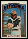 1972 Topps #60  Manny Sanguillen  Front Thumbnail