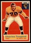 1956 Topps #54  Charley Toogood  Front Thumbnail