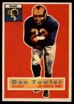 1956 Topps #90  Dan Towler  Front Thumbnail