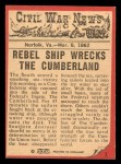 1965 A & BC England Civil War News #7   Death at Sea Back Thumbnail