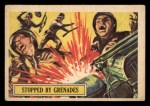 1966 A and BC England Battle #25   Stopped By Grenades Front Thumbnail