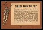1966 A and BC England Battle #35   Terror From The Sky Back Thumbnail