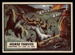 1962 Topps Civil War News #51   Horse Thieves Front Thumbnail