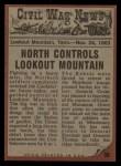 1962 Topps Civil War News #56   Burst of Fire Back Thumbnail