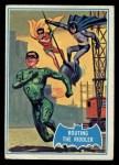 1966 Topps Batman Blue Bat Back #22   Routing the Riddler Front Thumbnail