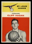 1961 Fleer #18  Cliff Hagan  Front Thumbnail