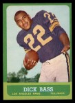 1963 Topps #39  Dick Bass  Front Thumbnail