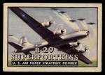 1952 Topps Wings #51   B-29 Superfortress Front Thumbnail