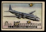 1952 Topps Wings #41   R60 Constitution Front Thumbnail